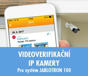 Videoverifikační IP kamery pro systém JABLOTRON 100